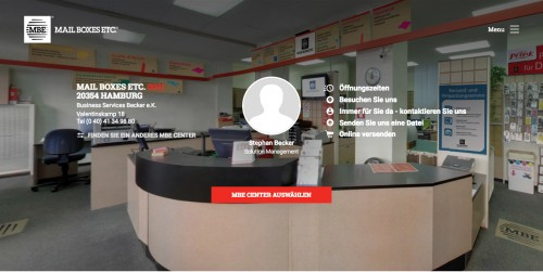 Firmenprofil von: MAIL BOXES ETC.: Dienstleistungen und Druckerei in Hamburg