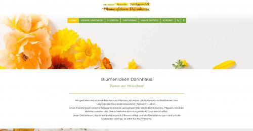 Firmenprofil von: Blumenideen Dannhaus in Herford