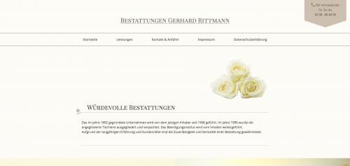 Firmenprofil von: Bestattungen in Oberhausen: Bestattungen Rittmann