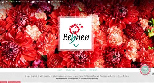 Firmenprofil von: Prachtvolle Blumen in Rheine: Blumenhaus Behnen