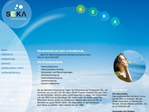 Firmenprofil von: SEKA Schutzbelüftung und Atemschutzanlagen in Landau