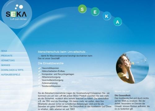 Firmenprofil von: SEKA Schutzbelüftung GmbH in Landau