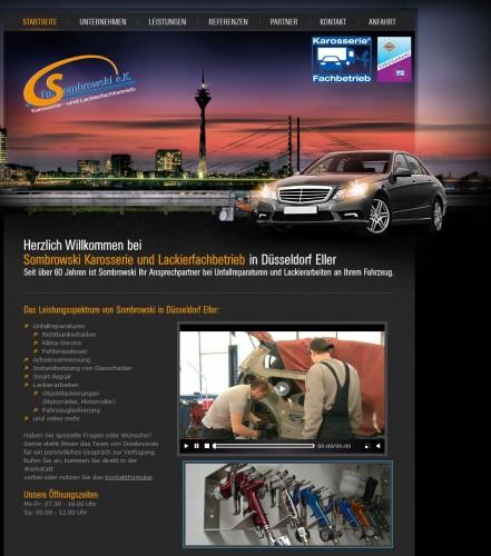 Firmenprofil von: Sombrowski Karosserie und Lackierfachbetrieb in Düsseldorf Eller