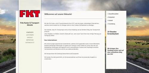 Firmenprofil von: Sonder-, Express- und Terminfahrten bei den Transport-Profis in Köln