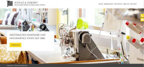 Firmenprofil von: Gardinenatelier Schulz & Gojowy: Sonnenschutz aus Berlin
