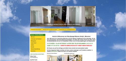Firmenprofil von: Elektrische Kippspiegel in München: Glas-Spiegel-Rahmen GmbH