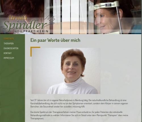 Firmenprofil von: Heilpraktikerin Ursula Spindler in Nienburg