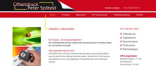 Firmenprofil von: Digitaldruck in Dinslaken: Offsetdruck Peter Splitek GmbH