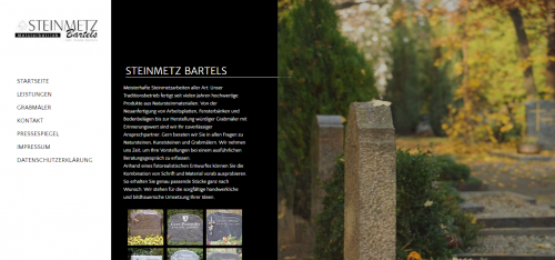 Firmenprofil von: Einzigartiges Grabmal in Stade: Steinmetz Bartels