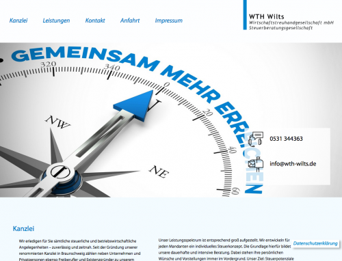 Firmenprofil von: Einfache und sichere Buchführung in Braunschweig: WTH Wilts