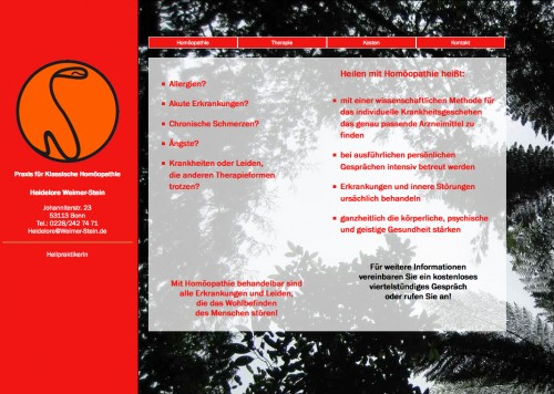 Firmenprofil von: Praxis für klassische Homöopathie Heidelore Weimer-Stein in Bonn