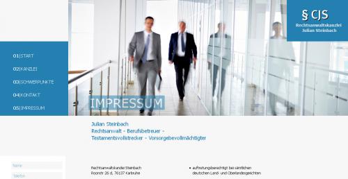 Firmenprofil von: Rechtsanwaltskanzlei Steinbach in Karlsruhe