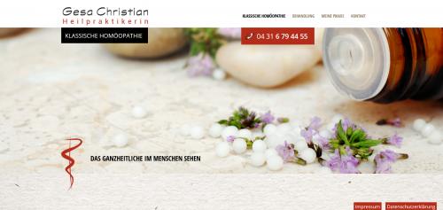 Firmenprofil von: Ihre Ansprechpartnerin für Klassische Homöopathie in Steinburg