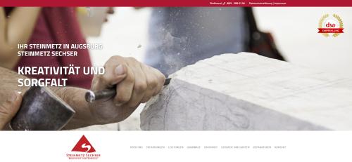 Firmenprofil von: Erfahrener Bildhauer in Augsburg: Steinmetz Christian Sechser