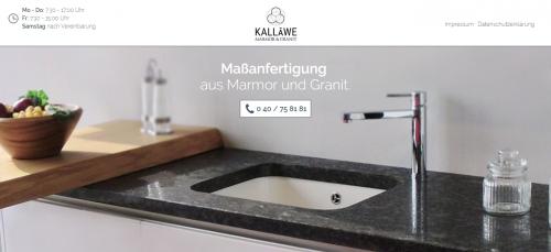 Firmenprofil von: Produkte aus Marmor & Granit von Kalläwe in Hamburg
