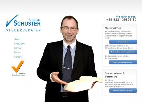 Firmenprofil von: Steuerberater Andreas Schuster in Delmenhorst