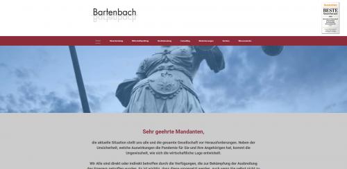 Firmenprofil von: Die Steuerberater Ihres Vertrauens: Bartenbach & Bartenbach in Bad Wildbad