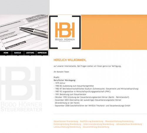 Firmenprofil von: Steuerberater Bodo Hörner in Berlin