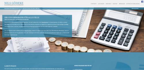 Firmenprofil von: Professionelle Steuerberatung in Nienburg: Diplom-Betriebswirt Nils Gödeke
