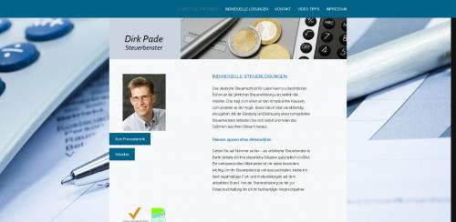 Firmenprofil von: Dirk Pade: Ihr Steuerberater in Reinickendorf