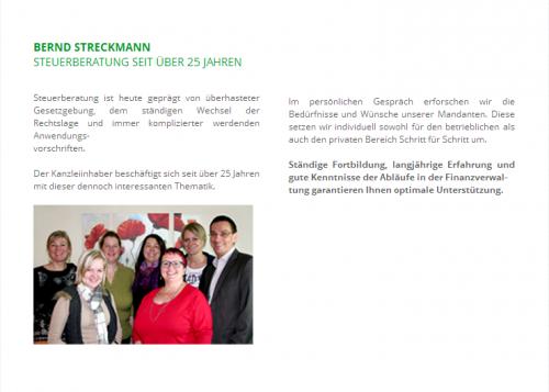 Firmenprofil von: Bernd Streckmann Steuerberatung in Ratingen
