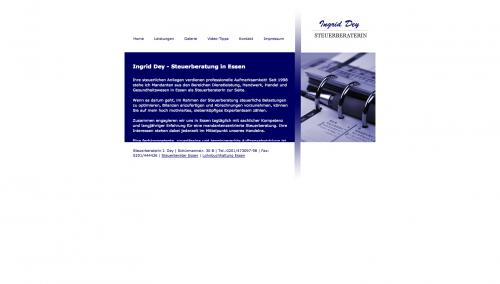 Firmenprofil von: Hohe Steuerbelastung vermeiden: Steuerberaterin Dey in Essen