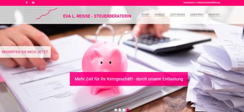 Firmenprofil von: Ihre professionellen Steuerberater: Eva L. Reiße in München