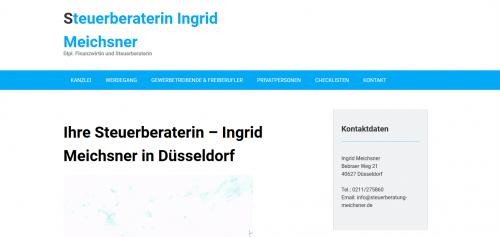 Firmenprofil von: Ihre zuverlässige Steuerberaterin in Düsseldorf