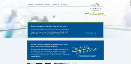 Firmenprofil von: Steuerberater Einhaus in Dortmund – Ihre helfende Hand bei Steuerfragen