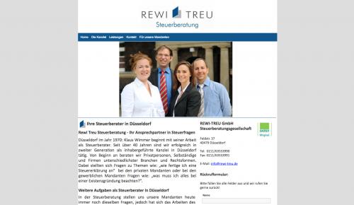 Firmenprofil von: REWI-TREU Steuerberatungsgesellschaft in Düsseldorf