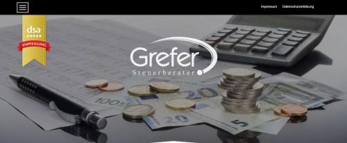 Firmenprofil von: Fachkundige Steuerberatung – Steuerberater Grefer in Essen