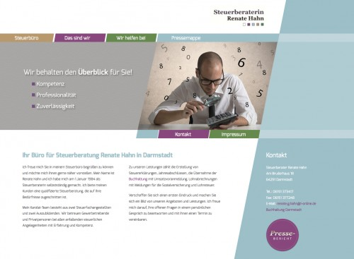Firmenprofil von: Steuerberaterin Renate Hahn aus Darmstadt
