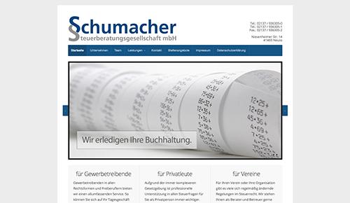 Firmenprofil von: Sichere Unternehmensnachfolge – Steuerkanzlei Schumacher im Raum Neuss Rosellerheide und Umgebung