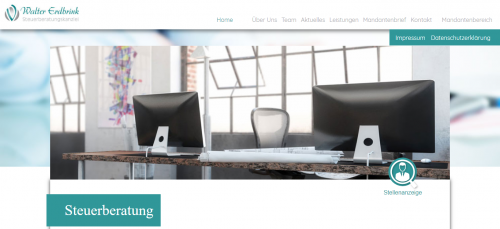 Firmenprofil von: Steuerberatungskanzlei Walter Erdbrink in Wiesbaden