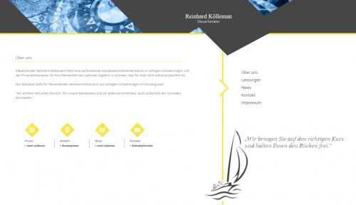 Firmenprofil von: Zuverlässige Beratung im Steuerbüro von Reinhard Köllemann