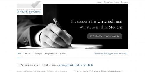 Firmenprofil von: Ihr verlässlicher Steuerberater für Buchführung – Dr. Czerner aus Heilbronn