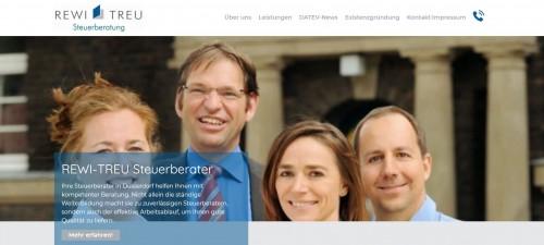 Firmenprofil von: Ihr Partner für professionelle Steuerberatung – REWI-TREU GmbH in Düsseldorf