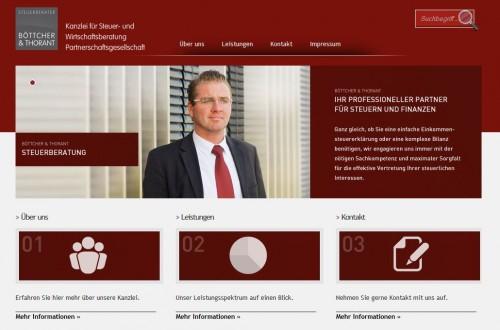 Firmenprofil von: Steuerberater Boettcher & Thorant PartG in Dorsten