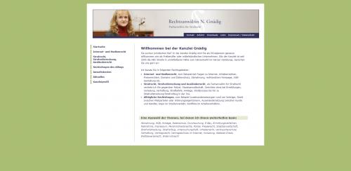 Firmenprofil von: Die Rechtsanwältin Ihres Vertrauens: Kanzlei Gnädig