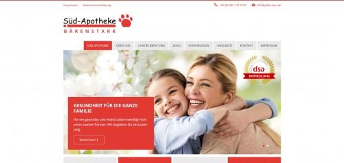 Firmenprofil von: Gesund durchs Leben mit der Süd-Apotheke in Duisburg