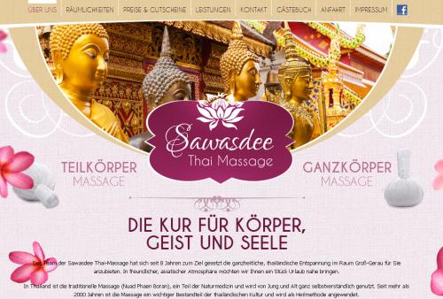 Firmenprofil von: Sawasdee Thai Massage in Groß-Gerau