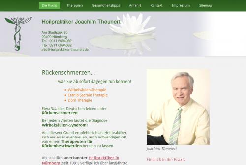 Firmenprofil von: Heilpraktiker Joachim Theunert in Nürnberg