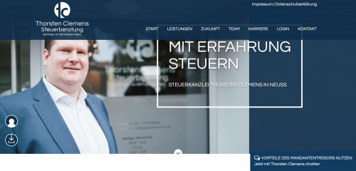 Firmenprofil von: Was passiert, wenn die Kassen-Nachschau kommt? Steuerberater Thorsten Clemens in Neuss klärt auf