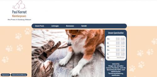 Firmenprofil von: Ihr treuer Tierarzt Paul Kornat in Duisburg