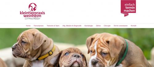 Firmenprofil von: Ihre professionelle Tierärztin – Kleintierpraxis Weinheim