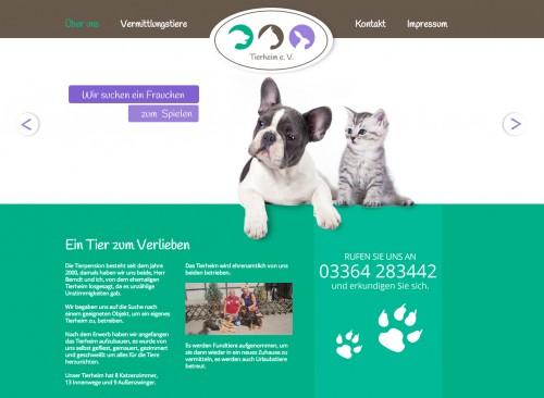 Firmenprofil von: Tierheim e. V. Valentin in Eisenhüttenstadt