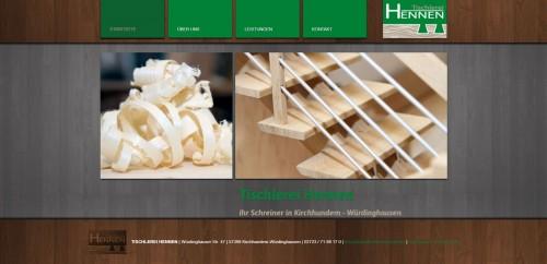 Firmenprofil von: Tischlerei Hennen in Kirchhundem: Ihr Partner für Holzarbeiten