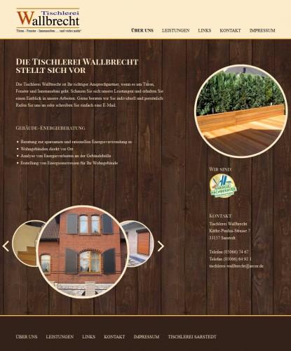 Firmenprofil von: Fensterbau aus Meisterhand: Tischlerei Wallbrecht im Raum Pattensen