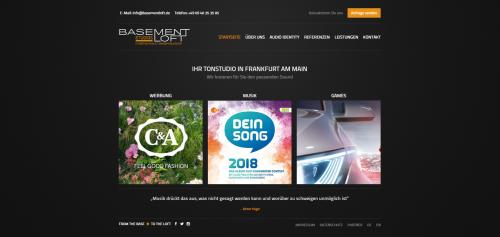 Firmenprofil von: Musikproduktion BasementLoft Studios in Frankfurt: unvergleichliche Klänge, die unter die Haut gehen