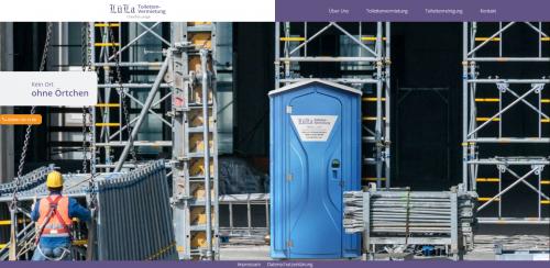 Firmenprofil von: Toiletten für Ihre Baustelle mieten: LüLa Toilettenvermietung